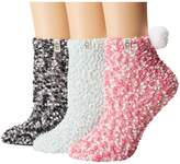 UGG Pom Socks Gift Set Women's Low Cut Socks Shoes