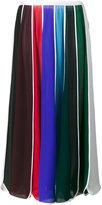 Rosie Assoulin Umbrella stripe skirt - women - Silk - XS