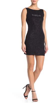 Bebe Sleeveless Short Dress