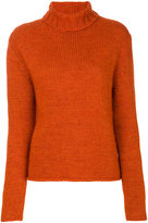Barena ribbed roll neck jumper