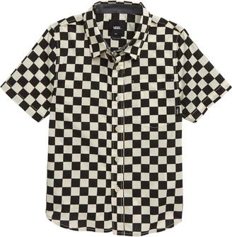 Vans Cypress Checker Short Sleeve Button-Up Shirt