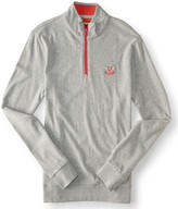 Prince & Fox Logo Quarter Zip Pullover Top