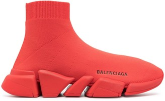 Balenciaga logo-print Speed trainers