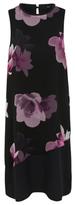 George Beaded Neck Floral Dress