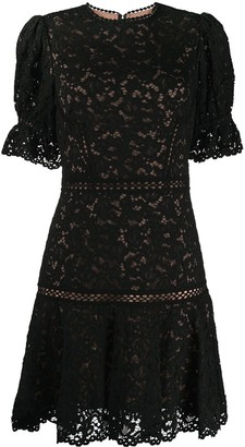 Jonathan Simkhai Floral Lace Mini Dress