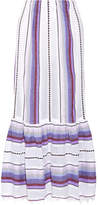 Lemlem Adia Convertible Striped Cotton-blend Gauze Skirt