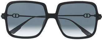 Christian Dior Link Oversized Sunglasses