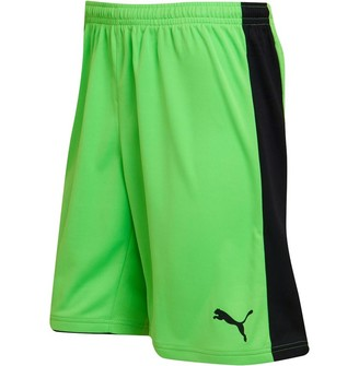Puma Mens Tournament Goalkeeper Shorts Fluro Green