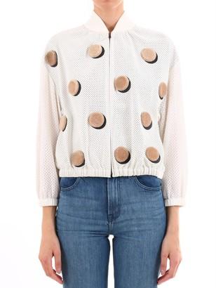 Fendi Printed Zip-Up Jacket