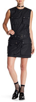 Love Moschino Patch Pocket Sleeveless Dress