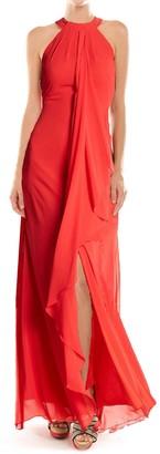 Yumi Kim Aphrodite Neck Tie Maxi Dress