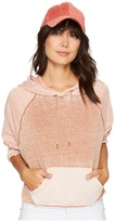 Free People Tricolor Hoodie Women's Sweatshirt