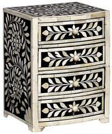 "Mela Artisans 10"" Imperial Beauty Jewelry Box - Black/White"