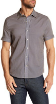 Parke & Ronen Biscayne Striped Short Sleeve Regular Fit Shirt