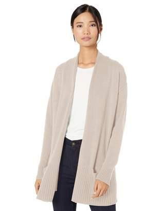 Goodthreads Wool Blend Jersey Stitch Cocoon Sweater Cardigan