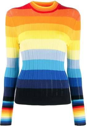 Parker Chinti & striped sweater