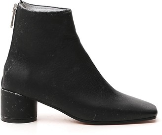 MM6 MAISON MARGIELA Distressed Ankle Boots