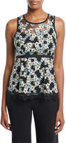 Nanette Lepore Midsummer Floral Sleeveless Top
