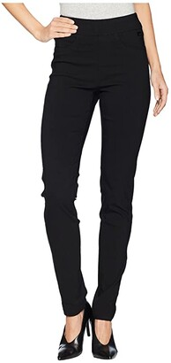FDJ French Dressing Jeans Technoslim Pull-On Slim Leg in Black