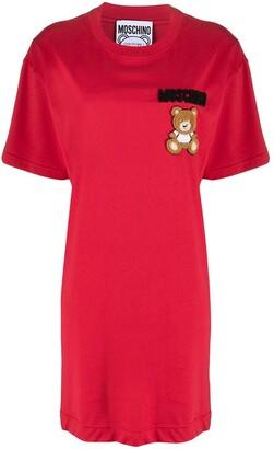 Moschino logo T-shirt dress