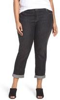 Eileen Fisher Stretch Denim Boyfriend Jeans (Plus Size)