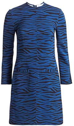 A.L.C. Noelle Tiger-Print Dress