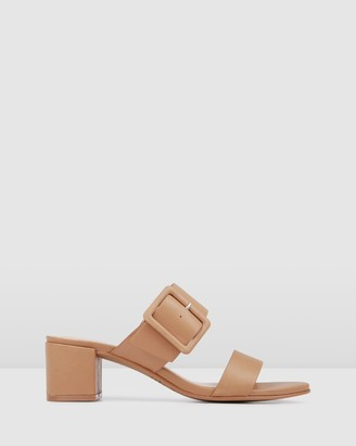 Jo Mercer - Women's Brown Strappy sandals - Rain Low Slides - Size One Size, 37 at The Iconic