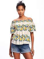 Old Navy Smocked Off-Shoulder Swing Top for Women