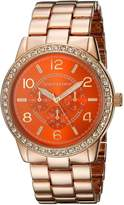 Vernier Women's VNR11194RG Analog Display Japanese Quartz Rose Gold Watch