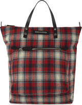 DSQUARED2 Check pattern tote