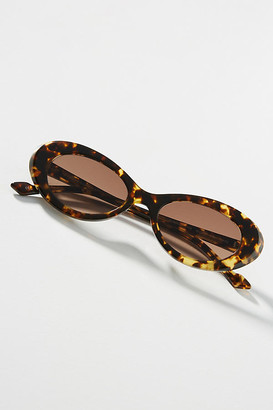 SUNDAY SOMEWHERE Georgia Oval Sunglasses By in Assorted Size ALL
