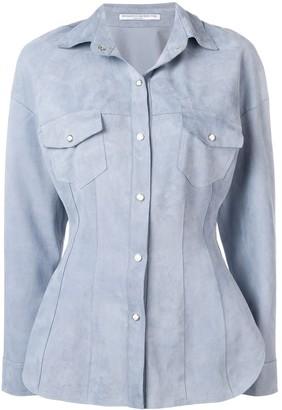 Ermanno Scervino nubuck jacket