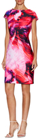 Julia Jordan Floral Paint Shift Dress
