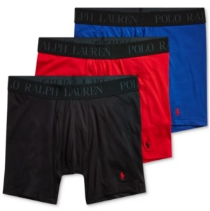 Polo Ralph Lauren Men's 4D Flex Modal 3-pk. Boxer Briefs