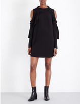 3.1 Phillip Lim Cold shoulder silk-crepe dress