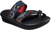 Skechers Women's Bumblers Star Struck Toe Loop Sandal