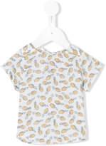 Simple pineapple print T-shirt