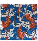 Gucci Bengal print scarf