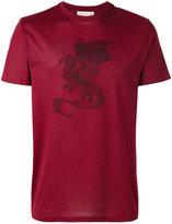 Etro dragon appliqué T-shirt - men - Cotton - M
