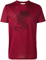Etro dragon appliqué T-shirt