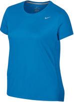 Nike Miler Short-Sleeve Running Tee - Plus
