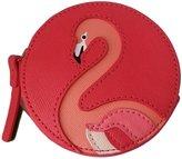 Kate Spade Flamingo Coin Purse Leather Wallet