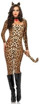 Leg Avenue Women's 3 Piece Cougar Catsuit Costume
