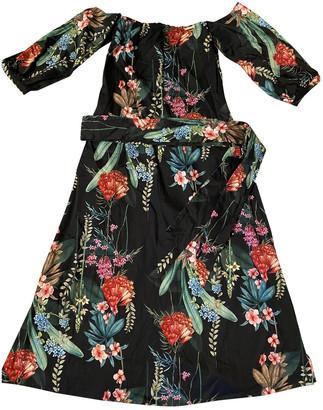 Mariagrazia Panizzi Multicolour Cotton Dress for Women