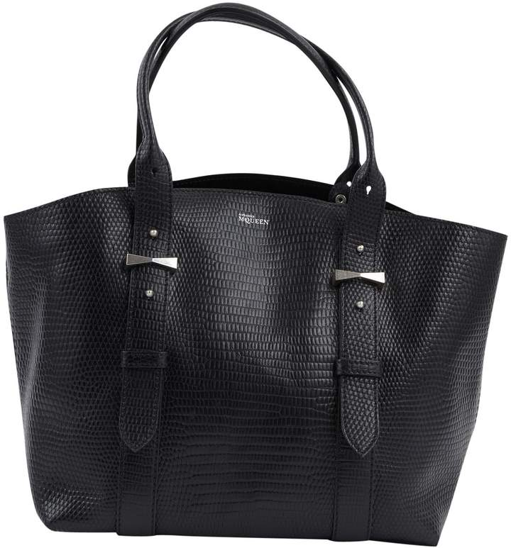 Alexander McQueen Leather tote