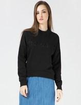 Harmony Black Laser Sweater