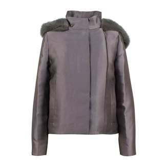 Valentino Grey Polyester Jackets