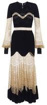 Alexander McQueen Wool and cashmere dress