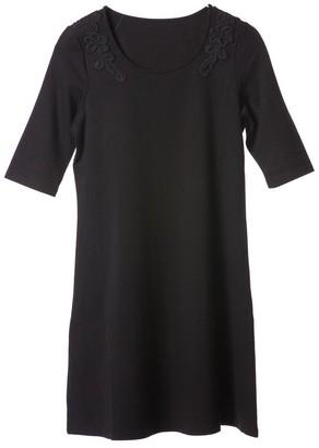 Black Label Reyna Skater Dress