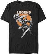 Fifth Sun Men's Tee Shirts BLACK - The Legend of Zelda Link Legendary Stance Tee - Men